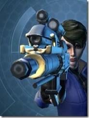 Exarch's Blaster Pistol MK-1 Front