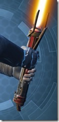 Exarch's Lightsaber MK-2 Back