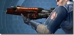 Ferrocarbon Asylum Blaster Rifle Left