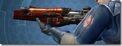 Ferrocarbon Onslaught Blaster Rifle Left