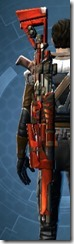 Ferrocarbon Onslaught Sniper Rifle Stowed