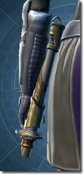 Rishi's Lightsaber MK-2 Stowed