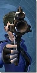 Sedrellium Onslaught Blaster Pistol Front