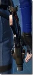 Sedrellium Onslaught Blaster Pistol Stowed