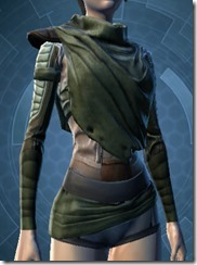 Veteran Outlander Force-Lord Robe