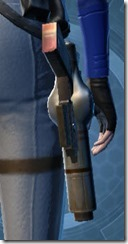 Mandalorian's Blaster Pistol MK-2 Stowed
