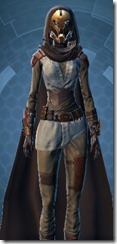 Enigmatic Hero - Female Close