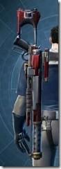 Enforcer's Rifle MK-2 Stowed