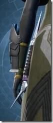 Instigator's Lightsaber Stowed