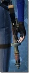 Privateer's Blaster Pistol MK-1 Stowed
