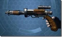 Privateer's Blaster Pistol MK-2 Left