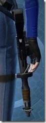 Privateer's Blaster Pistol MK-2 Stowed