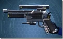 Zakuulan's Blaster Pistol MK-1 Left