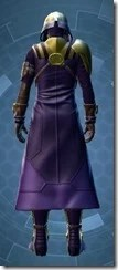 Distinguished Warden Dyed Back