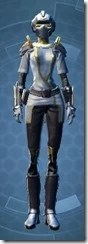 Dynamic Paladin - Female Front