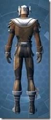 Diligent Engineer - Male Back
