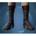 Frilled Leatheris Boots (Imp)