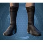 Frilled Leatheris Boots (Imp)