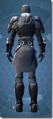 Calculated Mercenary - Male Back