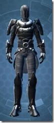 Calculated Mercenary - Male Front