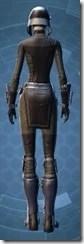 Guerrilla Tactician - Female Rear