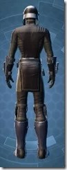 Guerrilla Tactician - Male Rear