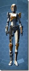 Charismatic Mandalorian Female Front