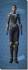 Distinguished Warrior Female Front