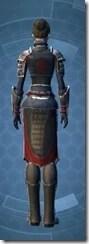 Distinguished Warrior Female Rear