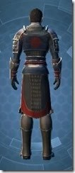 Distinguished Warrior Male Rear
