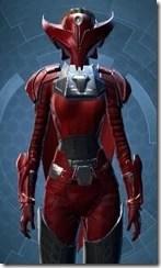 Crimson Talon Female Close