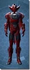 Crimson Talon Male Front