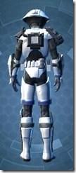 Elite Gunner Male Rear