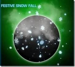Festive Snow Fall