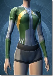Intelligence Agent's Breastplate