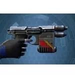 Masterwork Ancient Eliminator's Blaster Pistol