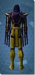 Sinister Warden Dyed Rear