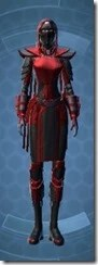 Sinister Warden Female Front