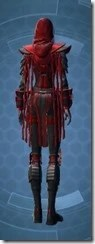 Sinister Warden Female Rear