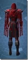 Sinister Warden Male Rear
