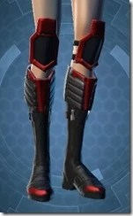 Sinister Warden's Boots