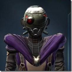 Bionic Raider Hides Helmet