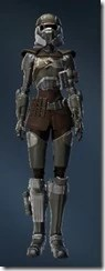 Holoshield Trooper - Female Front
