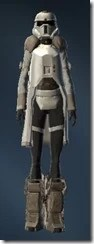 Arctic Trooper - Female Front
