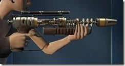 Unshielded Blaster Rifle Right