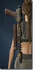 Unshielded Blaster Rifle Stowed
