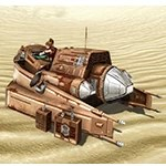 Star Fortress Burrower
