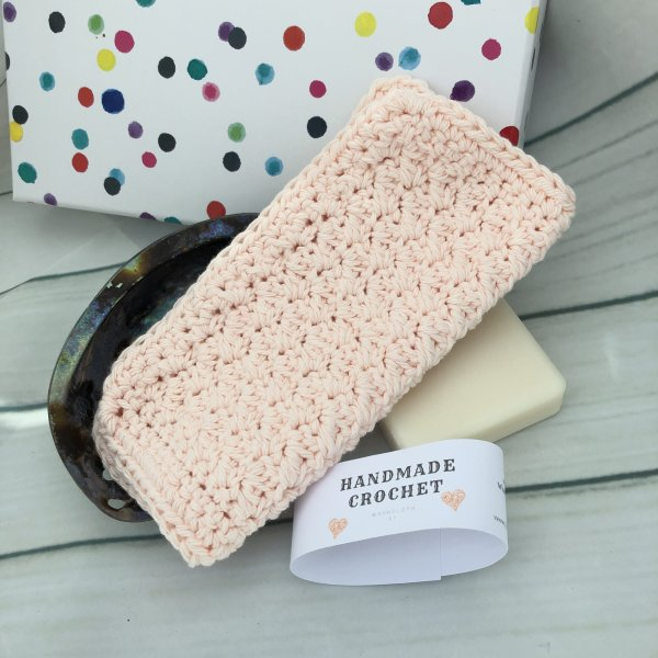 Camomile reusable washcloth