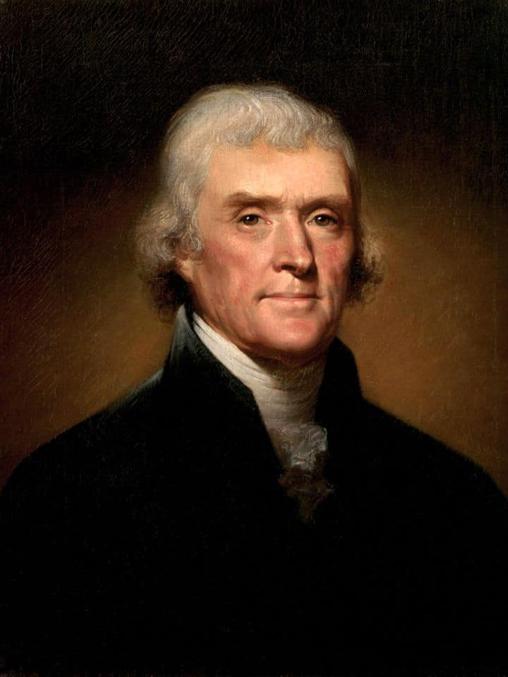 What Thomas Jefferson Ate: White Bean Soup - Learn a colonial recipe from Thomas Jefferson's family at Monticello for White Bean Soup. Vegetarian, healthy, delicious historical recipe.