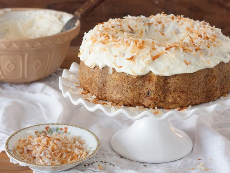 American Cakes   Carrot Cake with Cream Cheese Frosting American Cakes   Food Historian Gil Marks presents a classic recipe and  detailed history for Carrot